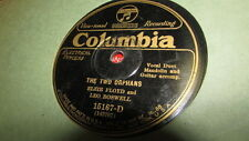 LEO BOSWELL COLUMBIA 78 RPM RECORD 15167 THE TWO ORPHANS