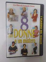 8 DONNE E UN MISTERO - FILM IN DVD -visitate il negozio ebay COMPRO FUMETTI SHOP
