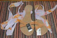 "Next Women's Ankle Straps Flat (less than 0.5"") Sandals & Beach Shoes"