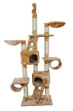 """New listing 94"""" Tall """"New York"""" Cat Tree-2 Color Choices-*Free Shipping In The U.S.*"""