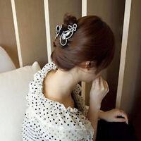 Eg _ FEMMES Papillon Pince Cheveux Strass Épingle à Mariage Accessoires Gentil