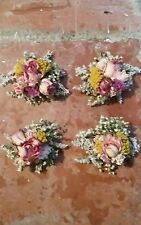 Floral Hair Clip. Bridal Natural Dried Flowers by Florence and Flowers accessory