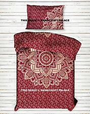 Indian Ombre Mandala Bed Sheet Single Bedding Bed Spread Hippie Bed Cover Throw