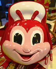 """2018 **Jollibee** Lunch Bag 12 """"  with plastic container spoon and fork sealed"""