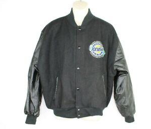 Vintage Chalk Line Super Bowl 28 1994 Football Nfl Jacket Mens Large Atlanta