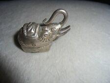 SMALL ELEPHANT TRINKET BOX 40 MM LONG
