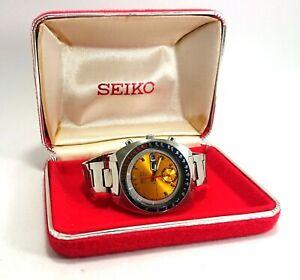 Antique Seiko Pogue 6139-6000 Automatic Wristwatch w/Box, Japan (#CM35)