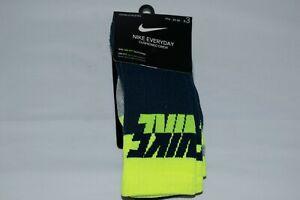 NIKE Everyday Cushioned Crew Socks 3 PACK - Size SMALL 3Y-5Y - NWT