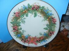 Lenox Colonial Christmas Wreath Series, New Jersey 1990, 10th Colony, Bnib, Coa