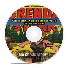 Crime Drama, Suspense, Vol 4, Fight Against Crime, Golden Age Comics DVD D77