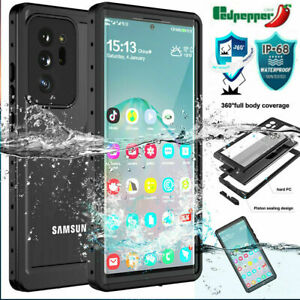 360° IP68 Waterproof Case Shockproof Cover Built-in Screen Protector For Samsung