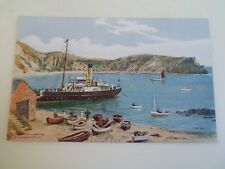 A R QUINTON Postcard 2824  Steamboat Landing Lulworth Cove GOOD UNUSED  §A1741