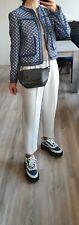 NEW MANDARINA DUCK small grey shoulder bag long strap