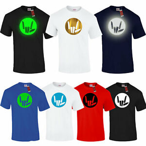 Share The Youtuber Cercle Stl Amour Enfants Garçons Filles T-Shirt Cap en Option