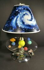 Solar system lamp planets outerspace light glow in the dark