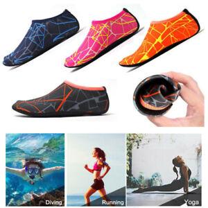 Aqua Socks Quick Dry Water Shoes Mens Womens Kids Beach Swim Surf Diving Socks