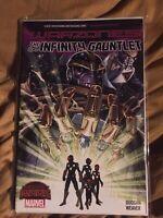 Infinity Gauntlet Warzones! Secret Wars Tie In Marvel Comics TPB