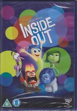 Inside  Out   New  &  Sealed  UK  Disney  /  Pixar  R2  DVD