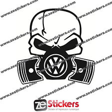 Sticker Volkswagen piston VW Golf Passat Eos Scirocco Polo - Couleurs au choix