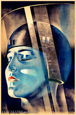 "Metropolis (Fritz Lang) Vintage Deco Style Movie Poster - (24""x36"") - Free S/H"