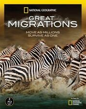 NATIONAL GEOGRAPHIC GREAT MIGRATIONS New Sealed Blu-ray
