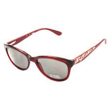 Occhiali da sole da donna farfalla con montatura in rosso 100% UVA & UVB