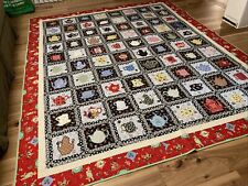 Hand Made Mary Engelbreit Fabric Quilt 94�x113