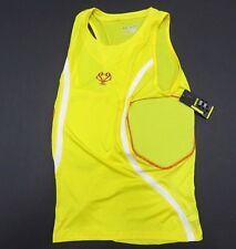Nwt Under Armour Padded Yellow Tank Top Basketball Sleeveless Men's Size 3Xl