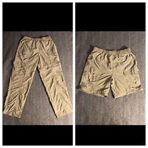 Columbia PFG Men's Convertible Omni Shade Hiking Fishing Zip Off Pants Size 32