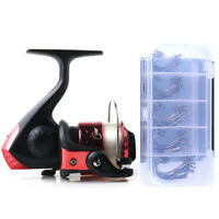 Durable 3 Ball Bearing Fishing Reels With Line Fishing Gear Lake Spinning Wheel