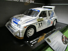 MG METRO 6R4 ROTHMANS #17 RALLY 1000 LAKES 1988 au 1/18 SUN STAR 5535 voiture
