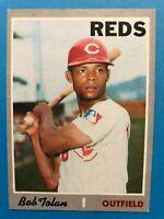 1970 Topps Bob Tolan Card #409 Cincinnati Reds