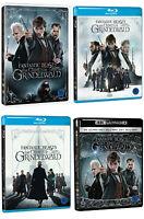 Fantastic Beasts: The Crimes Of Grindelwald  4K 3D 2D Blu-ray DVD / Pick format