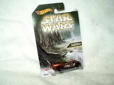 Figura De Acción De Star Wars Hot Wheels Vehículo Coche Dagobah Pony-Up 5 de 8