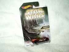 Action Figure Star Wars Hot Wheels Vehicle Car Dagobah Pony-Up 5 of 8