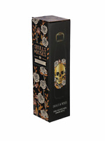 Skull and roses stainless steel hot and cold drinks bottle 500ml present gift