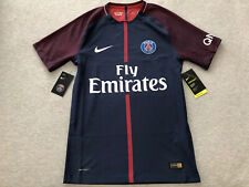 New Nike PSG Vapor Match Jersey Men's Small 2017/18 S Paris Saint Germain Home