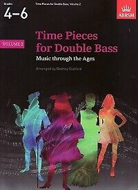 TIME PIECES FOR DOUBLE BASS Vol 2 Slatford*