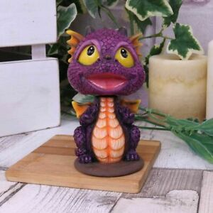 nemesis now *BOBAGON* Dragon Bobble-Head Hand Painted Resin Figurine (10cm)
