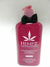 SUPRE HEMPZ SWEET WHIPPED CREME & WILD BERRY DAILY BODY MOISTURIZER LOTION LE