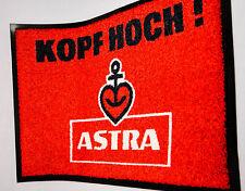 """Astra Bier Fußmatte / Fußabtreter """"Kopf hoch!"""", St.Pauli, Hamburg"""