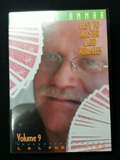Easy to Master Card Miracles - Volume 9 by Michael Ammar - Magic Dvd
