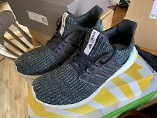 62c318f643ee Mens Adidas Ultra Boost Parley 4.0 Green Blue Trainers - UK 9