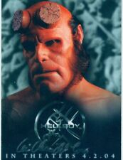 Hellboy The Movie Promo Card PUK