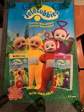 Teletubbies Vintage 1998 promotional poster - New