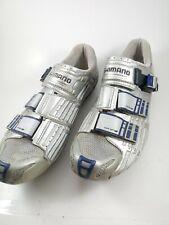 Shimano SH-R300 Elite Triathlon Cycling Running Shoe size 10.2 custom fit Gray