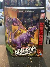 Transformers War Cybertron Kingdom Leader Megatron Beast WFC-K10 Sealed In Hand
