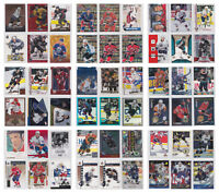 NHL Parallel Low Numbered Refractor Limited Rare SP Cards - Choose From List