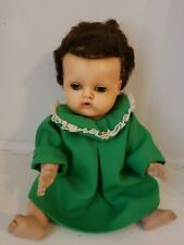 Vintage American Character Tiny Tears Doll with Curly Wig- 1950's
