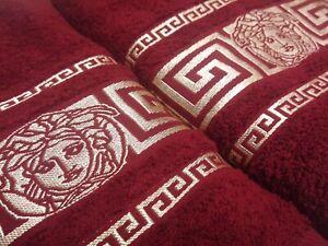 Set 2pcs. Luxury Versace Towels